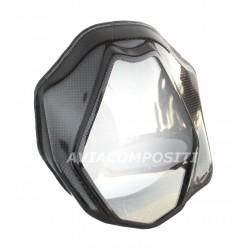Headlight in carbon fiber...
