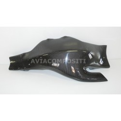Integral cover for swingarm