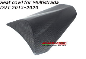 Seat cowl for Multistrada DVT 2015-2020
