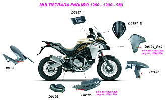 Multistrada Enduro 1260-1200-950