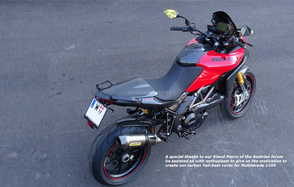 Ducati Multistrada 1200 Full Carbon Aviacompositi