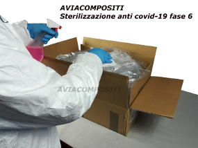 Sterilizzazione anti covid-19 fase 6