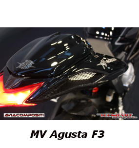 Tail in carbon fiber for MV Agusta F3